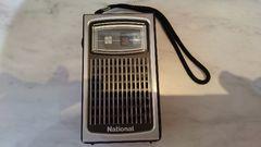 ナショナルのラジオ(電池つき)