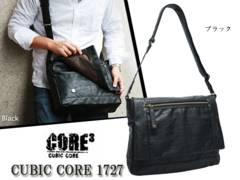 CUBIC CORE 1727 ヨコ型ショルダーバッグ(L) ブラック