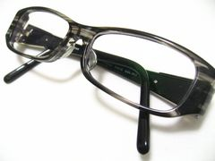 激レア.LOEWE.ロエベの極美コルノ柄入リ最高の眼鏡セルフレーム現在度入レンズ