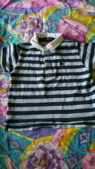 polo★ラルフ★ボーダー♪ポロシャツ。size90