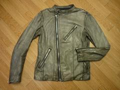 SHELLAC シェラック 48シングルレザーライダースジャケット