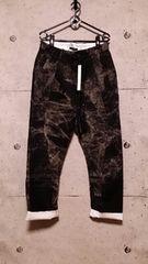 新品KMRIIケムリ Layered Twill Stretch Pants 3 BLACKKHAKI