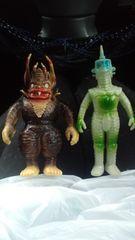ミクラス&ウィンダム!ウルトラセブンからカプセル怪獣!旧BANDAI旧バンダイ