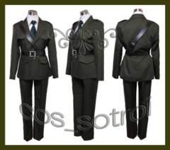 ヘタリア イギリス 軍服◆コスプレ衣装