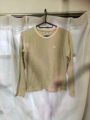 S098/adidas/Sサイズ/カーキー/長袖/Tシャツ/