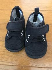 子供、ベビー、キッズ、幼児☆靴、スニーカー☆13cm☆黒