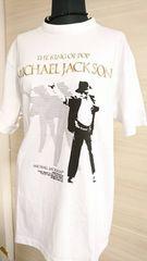 MICHAEL JACKSON/マイケルジャクソン/Triumph International/Tシャツ/M/白