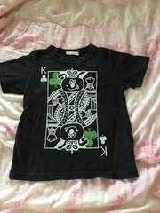 ベリーズベリートランプ柄Tシャツ110