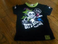 120 Bitz 黒のTシャツ