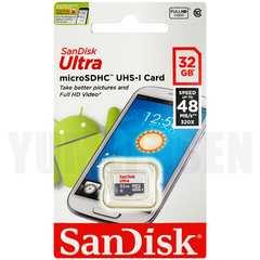 即決新品 SANDISKウルトラ マイクロSD 32GB microSDHC CLASS10 UHS-1対応