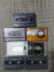 中古使用済カセットテープ TDK AR80 MA50 54 ソニーES�U50 BIG2 60 アクシア74