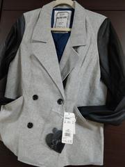 新品レトロガール袖切り替えジャケット
