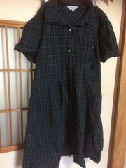 100スタセール*マタニティ服授乳服西松屋*クリックポスト185円ワンピL