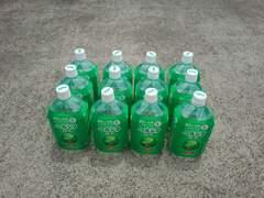 水生生物の飼育輸送用に1Lの空ボトル24本1000mlクリアボトル