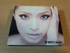 浜崎あゆみCD「A BEST 2-BLACK- 」2DVD付初回盤●