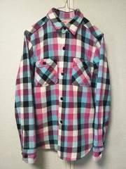 ◆DENIM&DUNGAREE◇デニム&ダンガリー◆チエックシャツ