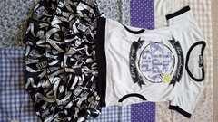 ZIDDY☆半袖Tシャツとスカートセット150☆ジディー