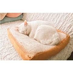 ふわふわ食パン型ペットクッション 犬猫兼用