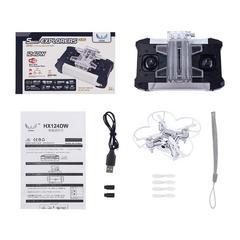 HX124DWドローン小型 カメラ付き 480p空撮り可能