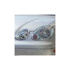 トヨタ クロームメッキヘッドライトリング ヘッドリム アリスト 160系 16 GS300