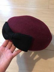 ANAP☆ウール、マロン帽、リボン