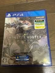 新品未開封PS4 モンスターハンターワールド モンハンワールド