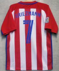 新品☆グリーズマン☆アトレティコ赤白7番M半袖N青フランス代表