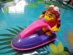 マクドナルド☆1999年代レア!ジェットスキー☆バーディ人形おもちゃ☆新品!