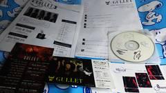 GULLET◆直筆サイン入コメントCD-R+チラシ DM カ-ド(?)◆lynch. 9GOATS