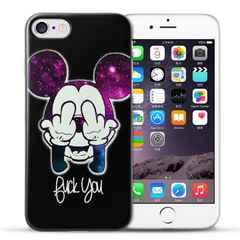 ミッキー 中指 Disney iPhone7Plusケース