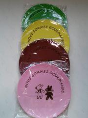 当選品□Pasco リサとガスパール メラミンプレート4枚セット□新品