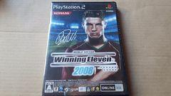 PS2☆ワールドサッカー ウイニングイレブン2008☆状態良い♪