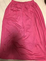 アメリカンホリック ロングプリーツスカート ピンク