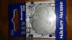 新品 ミッキーのブックマーククリップ9個入 定価626円