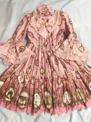 AngelicPretty カメオウィンドウドレス ピンク