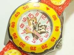 10467/チップ&デール人気キャラクターディズニーのレディース腕時計格安出品
