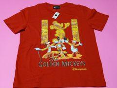 香港ディズニーランド The GOLDEN MICKEYS Tシャツ