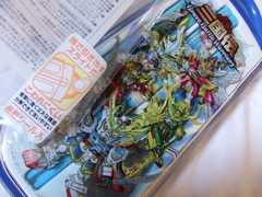 SDガンダム三国伝フォーク&スプーン箸セット青ケース付き