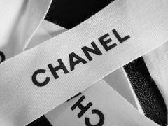 新品chanelシャネルリボンテープ165cmデコパーツリメイク手芸ナドに飾りハンドメイド