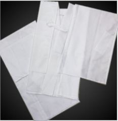 単衣・夏物着物和装下着 夏用夏物(絽)二部式襦袢白M・L