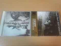 吉川晃司CD2枚「クラウディハート」「FAVORITE SOUNDS…1988」★