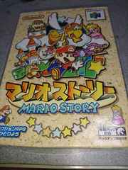 N64!箱説あり!マリオストーリー!ソフト!
