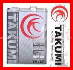 ★送料無料★TAKUMI 10W-60 6L 100%化学合成油 ドリフト他