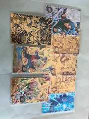 DBヒーローズ UM1 CP2枚、SH8 仮面のサイヤ人 、店頭配布5枚