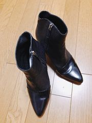 �@KENZO ショートブーツ 黒