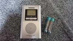 東芝のAM-FMラジオ