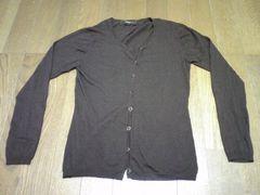カーディガン/Tシャツ/セット/茶/Sサイズ/薄手生地
