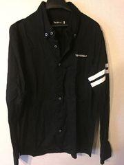 TOPREBEL  REBEL ラインシャツ ブラック ラグジュアリー