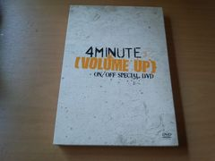 4Minute DVD「VOLUME UP ON/OFF SPECIAL DVD」韓国K-POP●