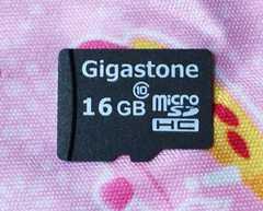 新品◇ギガストーン マイクロSDHC16GB Gigasutone micro16GB クラス10
